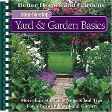 New listing Step-by-Step Yard and Garden Basics by Liz Ball (2001, Paperback)