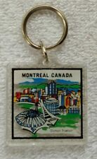 Original 1980's OLYMPIC STADIUM Montreal Canada KEY-CHAIN Never Used
