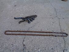 """PRE WAR SKIP-TOOTH BIKE CHAIN W/MASTER LINK OFF A 20"""" COLSON 43 LINK FITS MANY"""