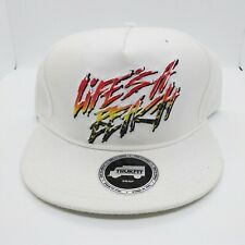 TrukFit mens 100% Authentic Adjustable Snapback off white