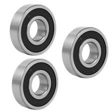 H● 25mmx62mmx17mm Sealed Deep Groove Rolling Ball Bearings 6305RZ 3pcs