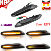 Dynamische LED Seitenblinker Blinker Für BMW E90 E91 E92 E93 E60 E87 E82 E46 TS