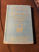 Reims Guerre 1914-1918 Wwi – Guides Michelin des champs de bataille, 1919