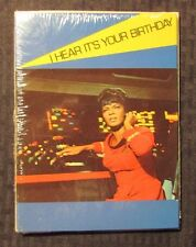 1976 STAR TREK Birthday Greeting Cards w/ Envelopes SEALED Lot of 5 Uhura Hear