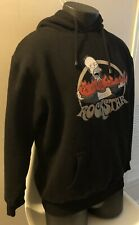 The Simpsons Medium ROCKSTAR Homer Black Hoodie Sweatshirt 2006 Universal Studio