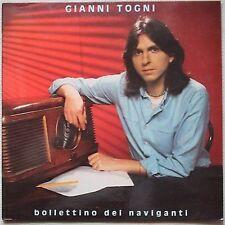 GIANNI TOGNI - Bollettino dei naviganti - LP VINYL 1982 NEAR MINT CONDITION