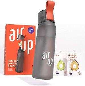 Air up Starter Set - 1 x Trinkflasche BPA-freies Tritan 650 ml 2 x Pods Geschma