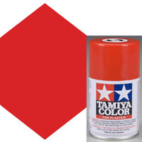 Tamiya TS-8 Italian Red Lacquer Spray Paint 3 oz