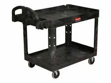 Rubbermaid Fg452088bla Commercial Heavy Duty Utility Cart Medium Black