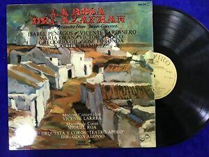 LA ROSA DEL AZAFRAN LP VINILO ROMERO FERNANDEZ SHAW JACINTO GUERRERO