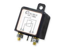 DT RL180-12 Trennrelais 12V/100A Boot Camping Bus KFZ für Zusatz-Batterie Relais