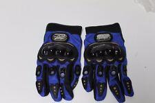 BLUE Pro Biker MotoCross Gloves XLARGE Moto Sports Gear 25-27cm -10-101/2  inch