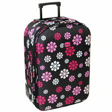 Soft Plastic Upright (2) Wheels Suitcases