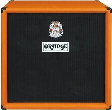 Orange Model OBC410 600 Watt 4X10 Bass Speaker Birch Cabinet w/Eminence Speakers