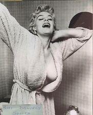 June Wilkinson PINUP CHEESECAKE BUSTY 40-22-35 PLAYBOY 8 X 10 ORIGINAL PHOTO 1