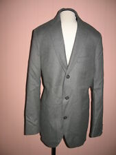 J Crew Legacy Sportcoat Suit Jacket in Wool Flannel 38S Three-Button Gray