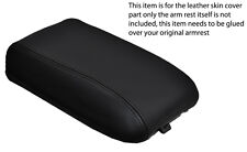 FITS Mitsubishi Magna/Diamante 1996-2003 TE TJ BLACK REAL LEATHER ARMREST COVER