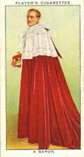 coronation series .ceremonial dress : a baron