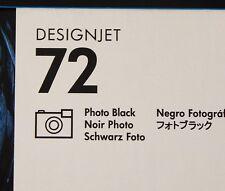 HP 72 Photo Black DesignJet 130ml Ink Cartridges NIB (C9370A)