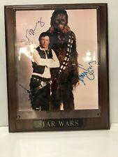 Star Wars Signed Harrison Ford 8X10 Pic