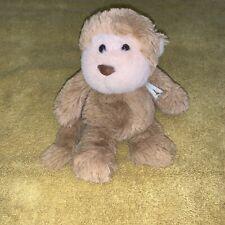 Manhattan Toy Company Monkey Stuffed Animal Plush Mini Tan Beige