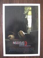 Filmplakatkarte / moviepostercard  Insidious 3  Stefanie Scott