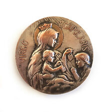 Vintage Virgo Scapularis Little Religious Metal Handle/Knob