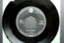 """7"""" Elvis Presley - That's All Right/ You're A Heartbreaker - D RCA 47-9227"""