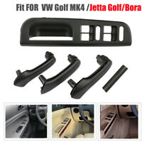 For VW Golf MK4 Beige Interior Door Grab Handle Cover Bezel Trim 5pcs 3B1867171E