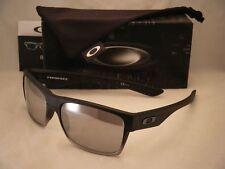 Oakley Two Face Matte Black w Chrome Iridium Lens (oo9189-30)