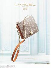PUBLICITE ADVERTISING 106  2012  Lancel  créa le sac à main collectio Daligramme