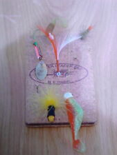 New listing 3x6 Cheater leader Cork Pad holds fishing Leader lines,Hooks,Flies,jigs,lu res