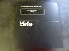 Yale ERC040-065GH Forklift Maintenance Manual           (A908)