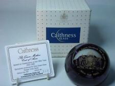 Caithness QUEEN MOTHER'S COAT OF ARMS 1995 Paperweight Ltd Ed +Box +COA
