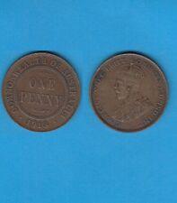 § Australie  Australia  Bronze Coin Georges V One  Penny Bronze 1913