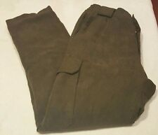 "Men's Hunting Waterproof Pants Aqa Membrane Plus Lined Pants Sz. 50 ---- Sz. 34"""