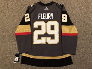 Marc-Andre Fleury - Vegas Golden Knights - 2017-21 Adidas Home Jersey sz 46 (S)