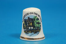 Bourton-On-The-Water, Gloucestershire China Thimble B/49