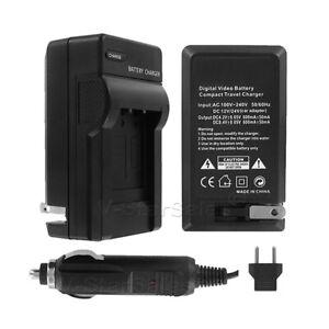 AC/DC Battery Charger for Pentax D-LI50  DLI150 K10D K20D