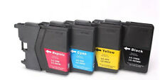 PACK x4 tinta compatibles GENERICA NONOEM LC985 DCP-J315W DCPJ315W DCP J315W
