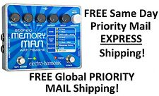 New Electro-Harmonix EHX Stereo Memory Man w/ Hazarai Digital Delay Looper Pedal