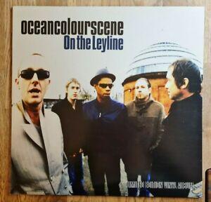 Ocean Colour Scene LP On The Leyline CLEAR VINYL UK Moseley Shoals 1st PressMINT