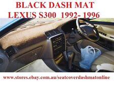 DASH MAT, DASHMAT,DASHBOARD COVER FIT LEXUS ES300 1992 - 1996, BLACK