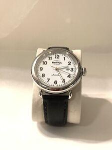 Shinola The Runwell Automatic Movement White Dial Men's Watch S0120141491
