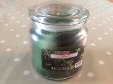 6 X Holiday Time Large Glass Jar Pine Scented Candle 11oz