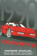 1990 Chevrolet Corvette Owners Manual User Guide Reference Operator Book Fuses