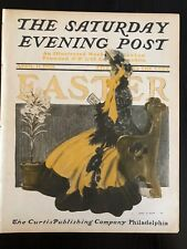 Illustrated  Saturday Evening Post Apr 11 1903 Henry Hutt Cover Art Easter Issue