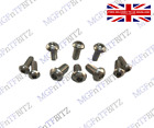 MGF / MG TF / LE500 NEW STAINLESS HOOD CATCH & RECEIVER BOLT PACK S108204SS