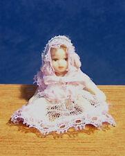 Casa De Muñecas En Miniatura De Porcelana Bebé Niño Niños Muñeca Vivero Natividad Lbv
