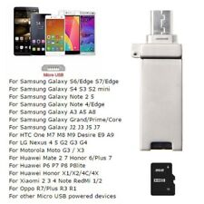 2in1 USB+Micro USB Micro SD TF Card Reader Adapter For Smart Phone PC Samsung S7